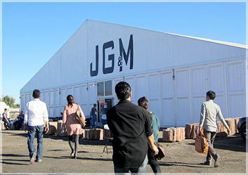 JG&Mショー会場です