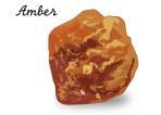 アンバーの原石