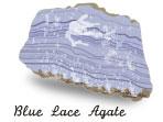 ブルーレースアゲートの原石