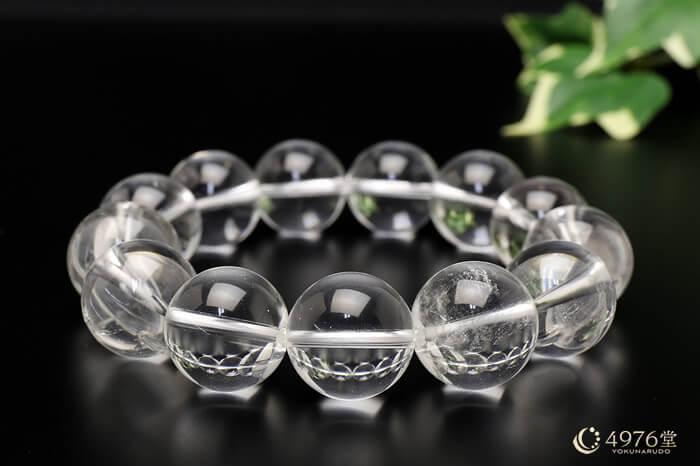 水晶 ブレスレット 16mm