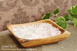 水晶&ローズクォーツ陰陽浄化セット(水晶&ローズクォーツさざれ、アカシア木製皿・スクエア)