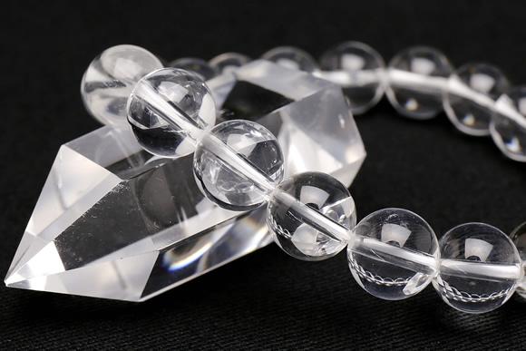 水晶 ブレスレット 10mm