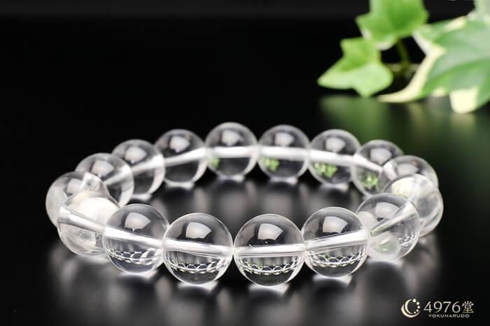 水晶 ブレスレット 12mm