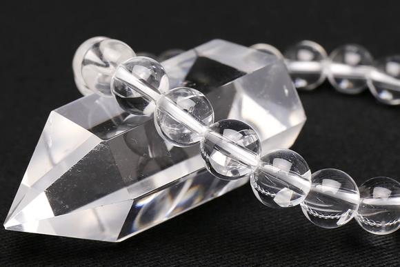 水晶 ブレスレット 8mm