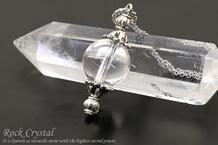 水晶 ネックレス 12mm