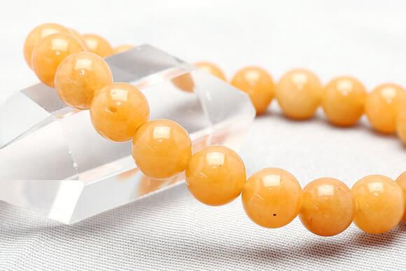オレンジアベンチュリン ブレスレット 8mm