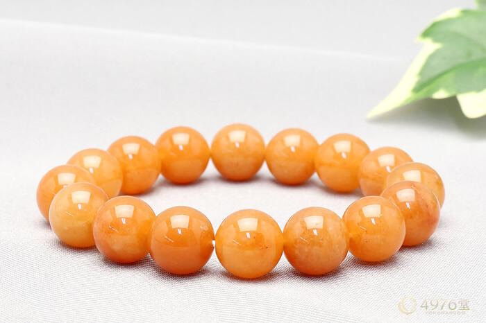 オレンジアベンチュリン ブレスレット 12mm