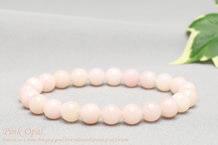 ピンクオパール ブレスレット 8mm