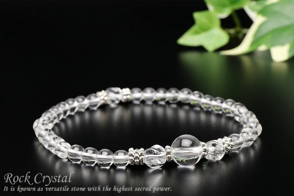 水晶・トルネード水晶 ブレスレット