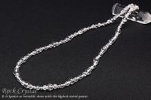 水晶丸玉 ネックレス50cm