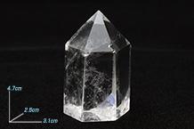 水晶ポイント(61g) 106543
