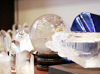 クラスターなど、レアな原石が豊富