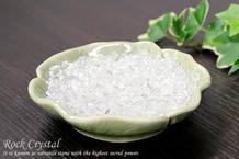 水晶さざれ浄化セット(セラドン焼き)