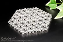 水晶浄化マット 六角形(約8×9cm)