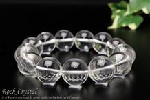 水晶ブレスレット 16mm