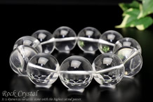 水晶ブレスレット 20mm