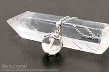 水晶 パワーストーンネックレス 10mm