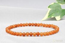 オレンジアベンチュリンブレスレット 4mm
