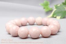 ピンクオパールブレスレット 12mm